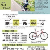釧路-阿寒ワンウェイサイクリング<試行>